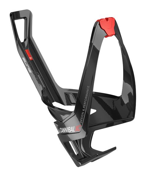 Košík ELITE Cannibal XC černá, červené logo