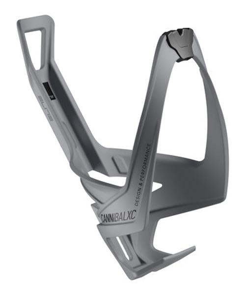 Košík ELITE Cannibal XC šedá, černé logo
