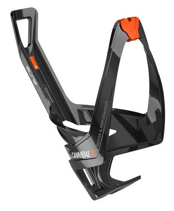 Košík ELITE Cannibal XC černá, oranžové logo