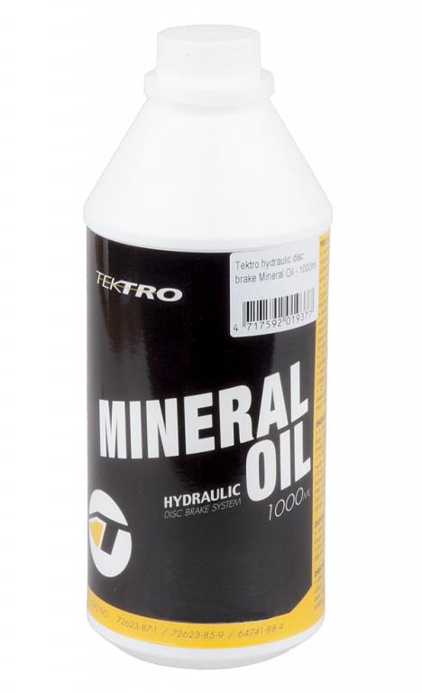Minerální olej TEKTRO do hydraulických brzd 1000ml