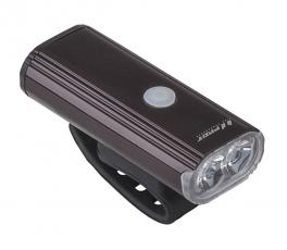 Světlo přední PRO-T Plus 750 Lumen 2 x 10 Watt LED dioda nabíjecí přes USB kabel 7067