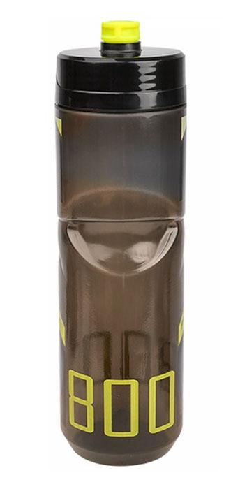 Láhev POLISPORT S800 0,8l kouřová-černá-zelená fluor