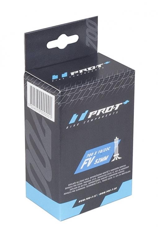 Duše PRO-T Plus 700x28-37C (28/38-622/630) FV 52mm v krabičce