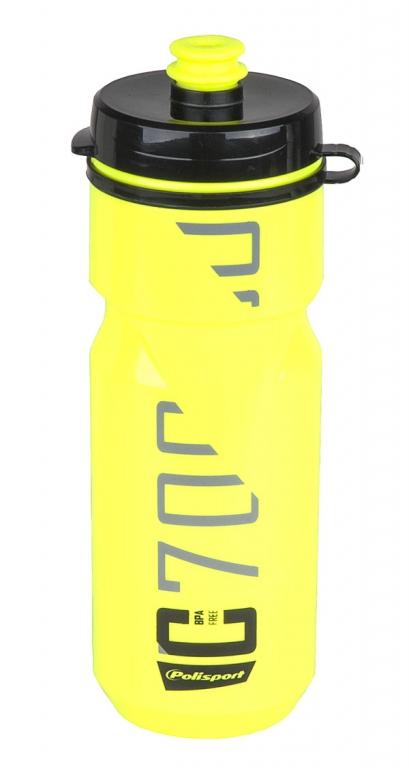 Láhev POLISPORT C700 0,7l zelená fluor-černá