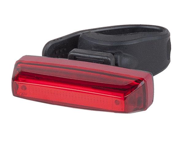 Světlo zadní PRO-T Plus blikací s brzdovým světlem STOP TECH 35 Lumen COB diody přes USB