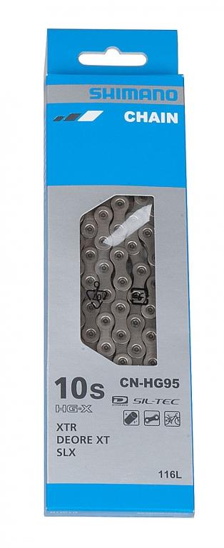 Řetěz SHIMANO  HG-95 116 čl. 30sp. balený