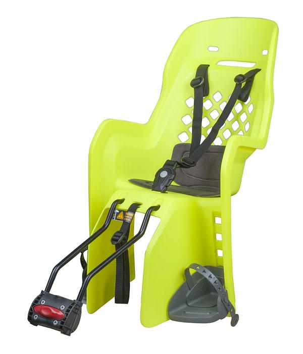 Dětská sedačka POLISPORT Joy 29 zelená fluor-tmavě šedá