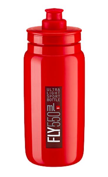 Láhev ELITE Fly 0,55l červená, bordeaux logo