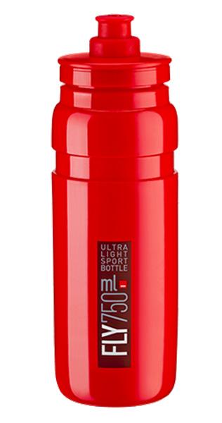 Láhev ELITE Fly 0,75l červená, bordeaux logo
