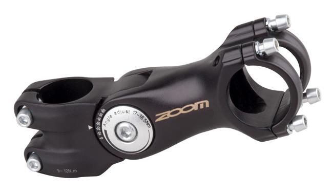 "Představec Ahead ZOOM Plus 1-1/8"" Al 105mm stavitelný 3D, průměr 31.8"