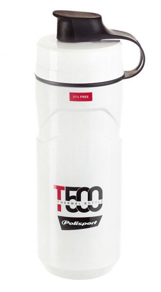 Termoláhev POLISPORT T500 0,5l/0,65l bílo-červená