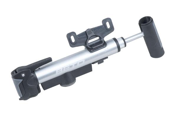 Pumpa PRO-T Plus teleskopická dural s duální hlavou a manometrem 37