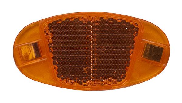 Odrazka do výpletu oranžová UNI (2ks)