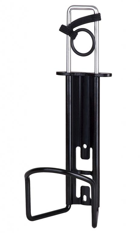 Košík PRO-T na PET láhev dural stavitelný černá