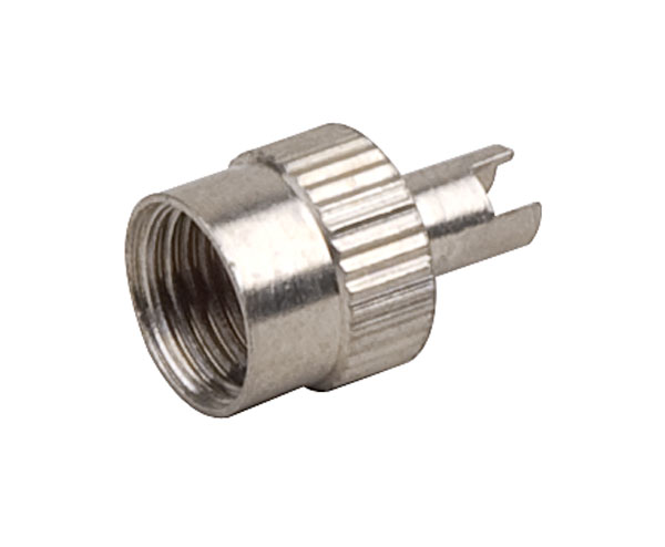 Čepička ventilku AV kovová s klíčem (10ks)