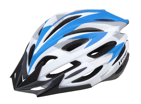 Přilba PRO-T Zamora L 58-61 modro-bílá matná
