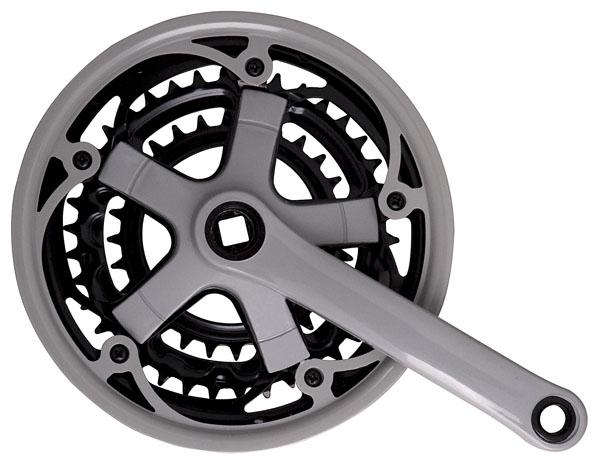 Trojpřevodník LASCO Fe/plast 28x38x48 zubů šedá