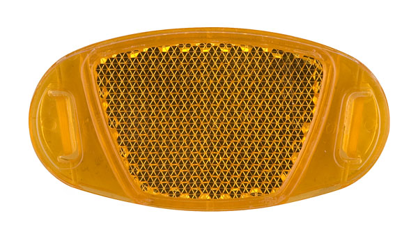 Odrazka do výpletu oranžová Eco (10ks)