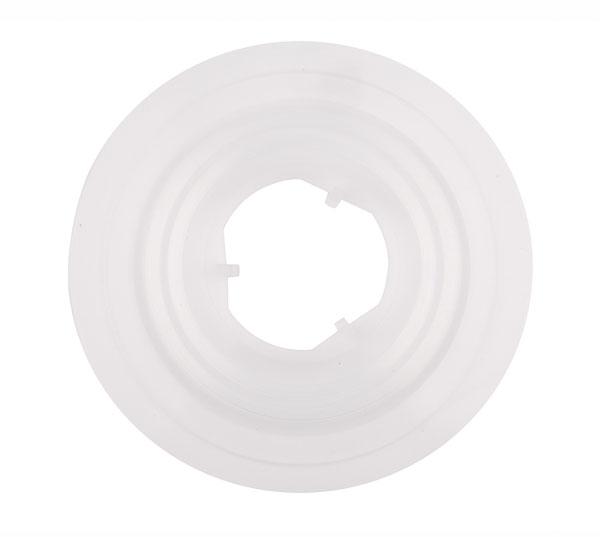 """Chránič pod vícekolečko + kazetu zaklapávací 6,5"""", 36 děr plast"""