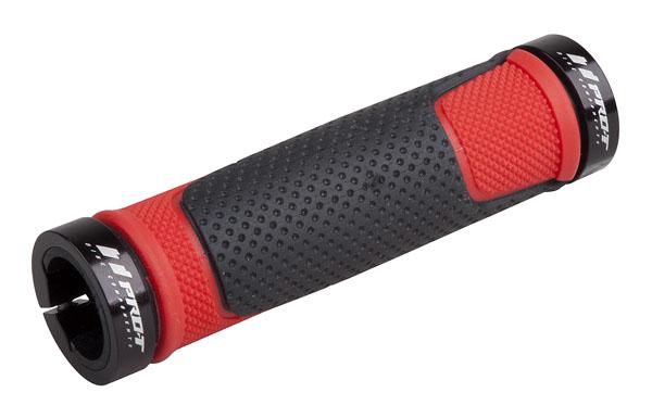 Grip PRO-T Plus na inbus 308 černo-červená+černé objímky