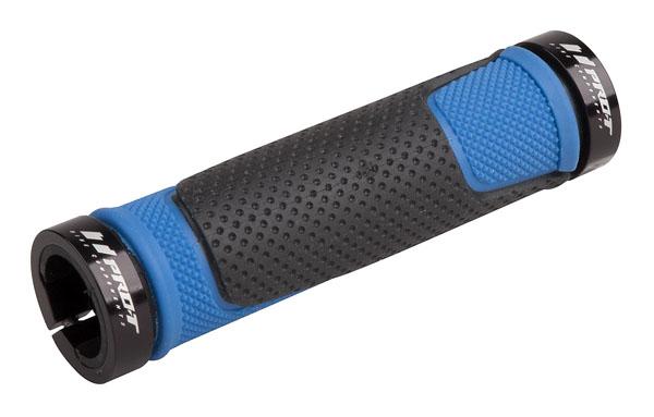 Grip PRO-T Plus na inbus 308 černo-modrá+černé objímky