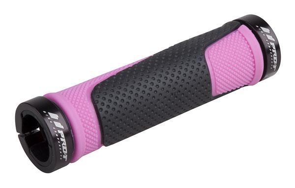 Grip PRO-T Plus na inbus 308 černo-růžová+černé objímky