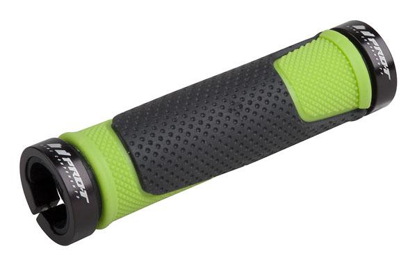 Grip PRO-T Plus na inbus 308 černo-zelená+černé objímky