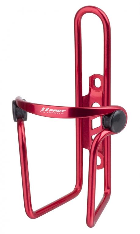 Košík PRO-T vzor Elite elox červená