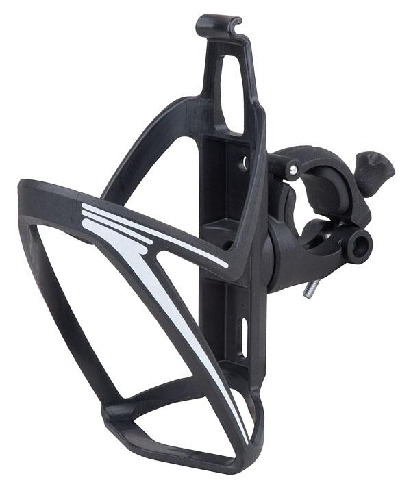 Košík PRO-T plast na řídítka 110 černo-bílá