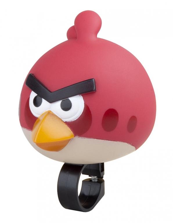 Houkačka plastová zvířátko Angry Bird