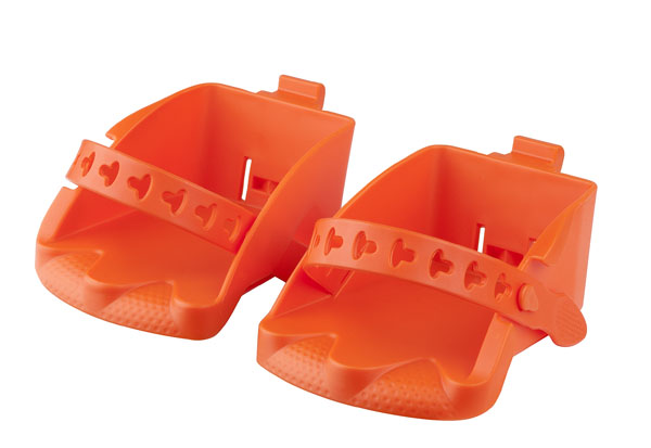 Náhradní stupačky sedačky POLISPORT Bilby Junior oranžová
