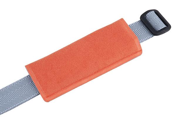 Bezpečnostní pás sedačky POLISPORT Bilby stříbrno-oranžová