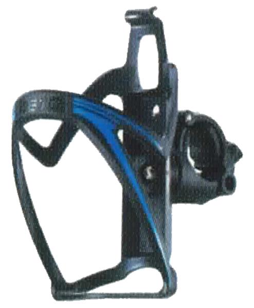 Košík PRO-T plast na řídítka 110 černo-modrá