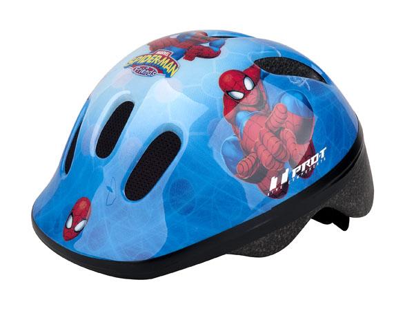 Přilba PRO-T Fafe dětská XS 44-48 modrá, Spider man