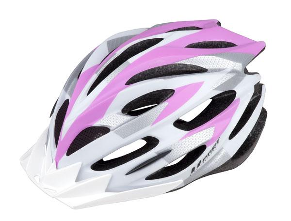 Přilba PRO-T Zamora L 58-61 růžovo-bílá matná