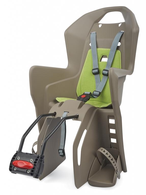 Dětská sedačka POLISPORT Koolah hnědo-zelená