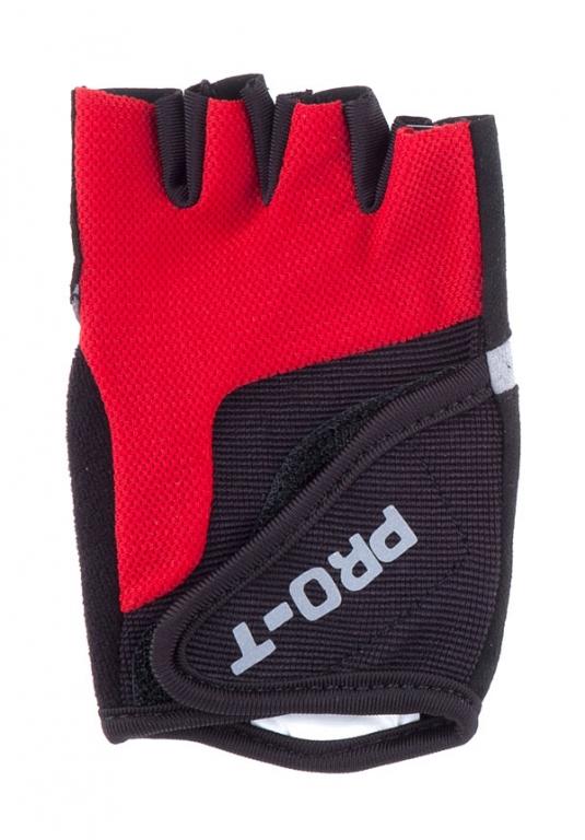 Rukavice PRO-T Plus Adria M černo-červená