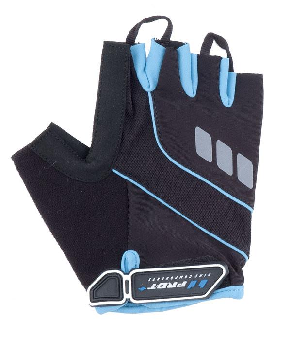 Rukavice PRO-T Plus Riva černo-modrá světlá, XS
