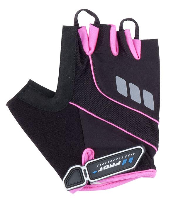 Rukavice PRO-T Plus Riva XS černo-růžová