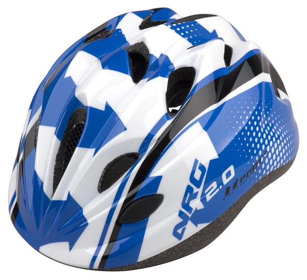 Přilba PRO-T Plus Toledo In mold dětská S 48-52 modro-bílo-černá NRG