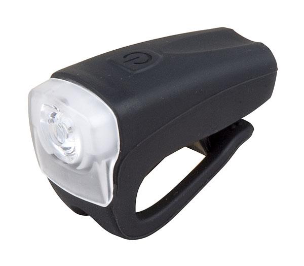 Světlo přední PRO-T Plus 3 Watt LED dioda nabíjecí přes USB kabel 378 Silicone černá