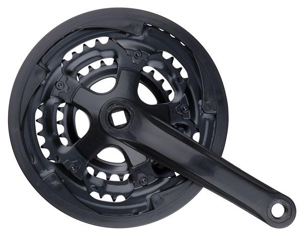 Trojpřevodník PRO-T Fe/plast 28x38x48 zubů černá